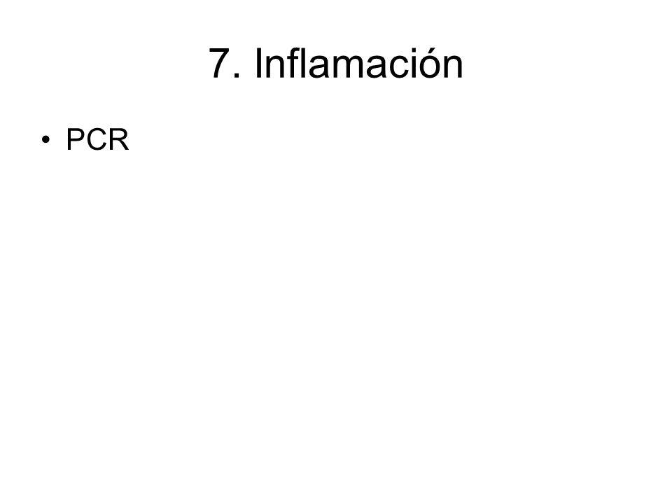 7. Inflamación PCR