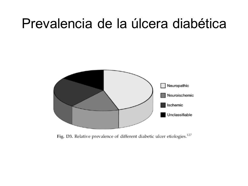 Prevalencia de la úlcera diabética