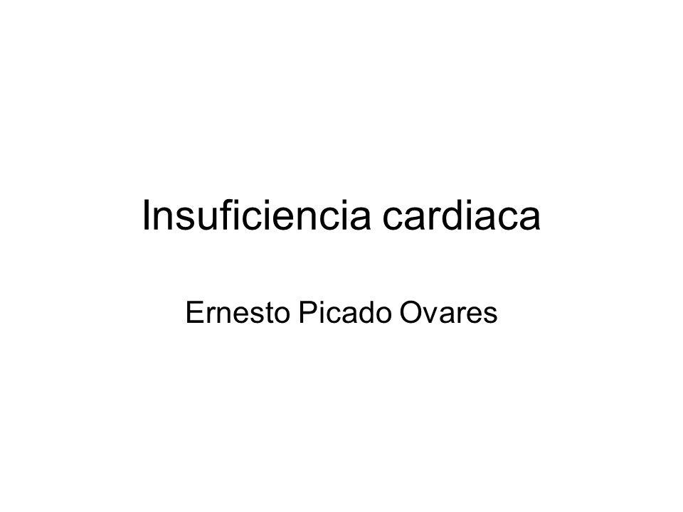 Insuficiencia cardiaca Ernesto Picado Ovares