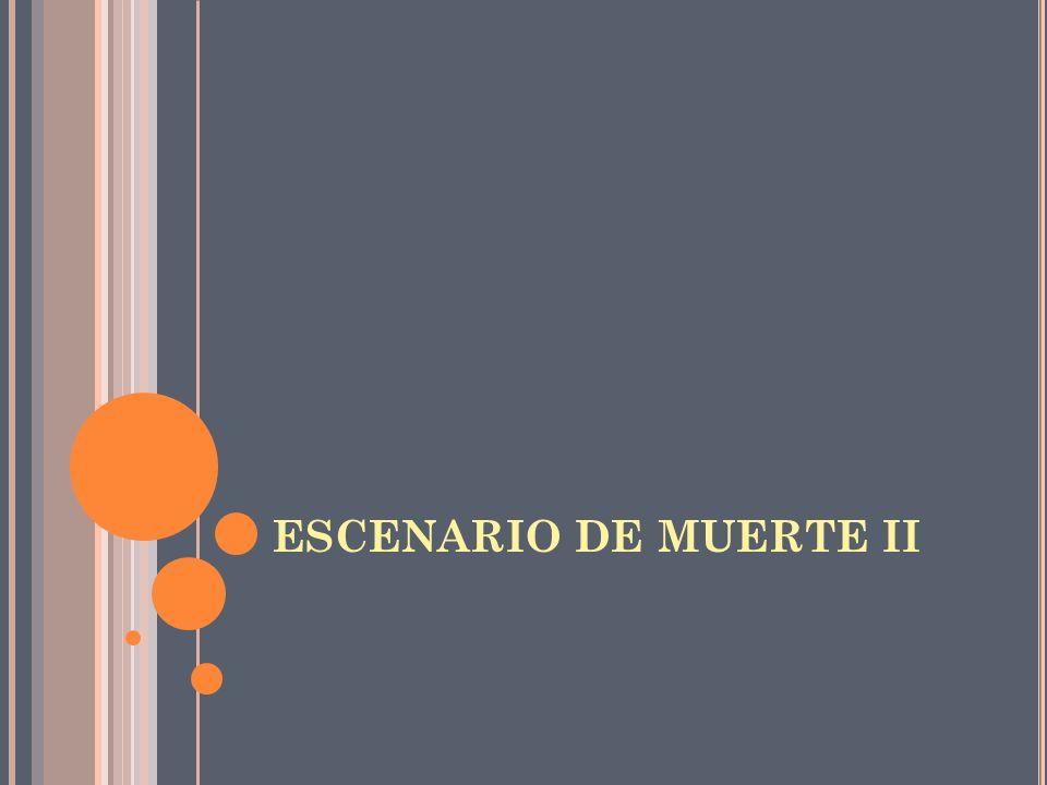 ESCENARIO DE MUERTE II