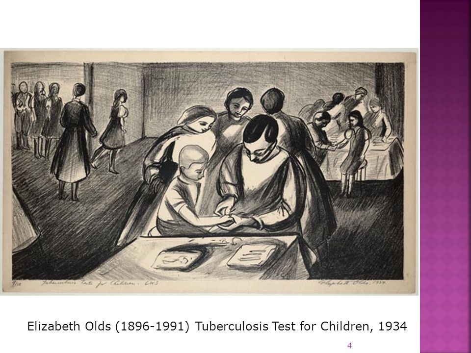 Elizabeth Olds (1896-1991) Tuberculosis Test for Children, 1934 4