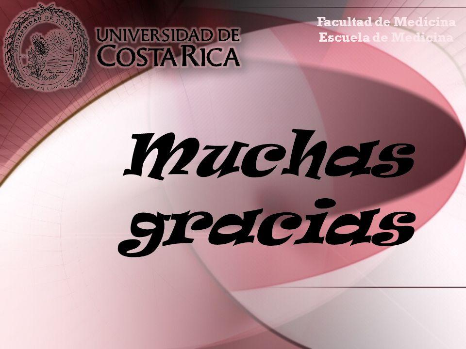Muchas gracias Facultad de Medicina Escuela de Medicina