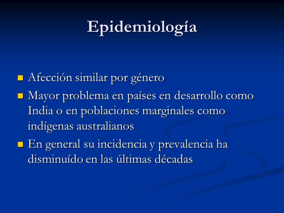 Etiología Antecedente de infección por patógeno aunque no se recupera el m.o.
