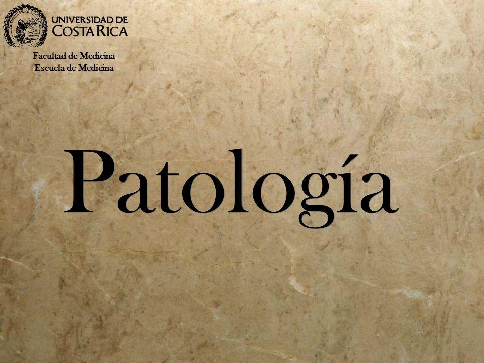 Patología Facultad de Medicina Escuela de Medicina