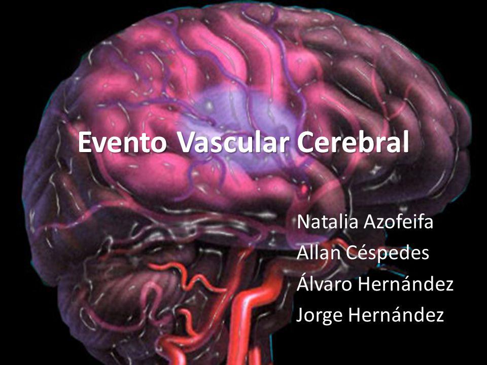 Evento Vascular Cerebral Natalia Azofeifa Allan Céspedes Álvaro Hernández Jorge Hernández