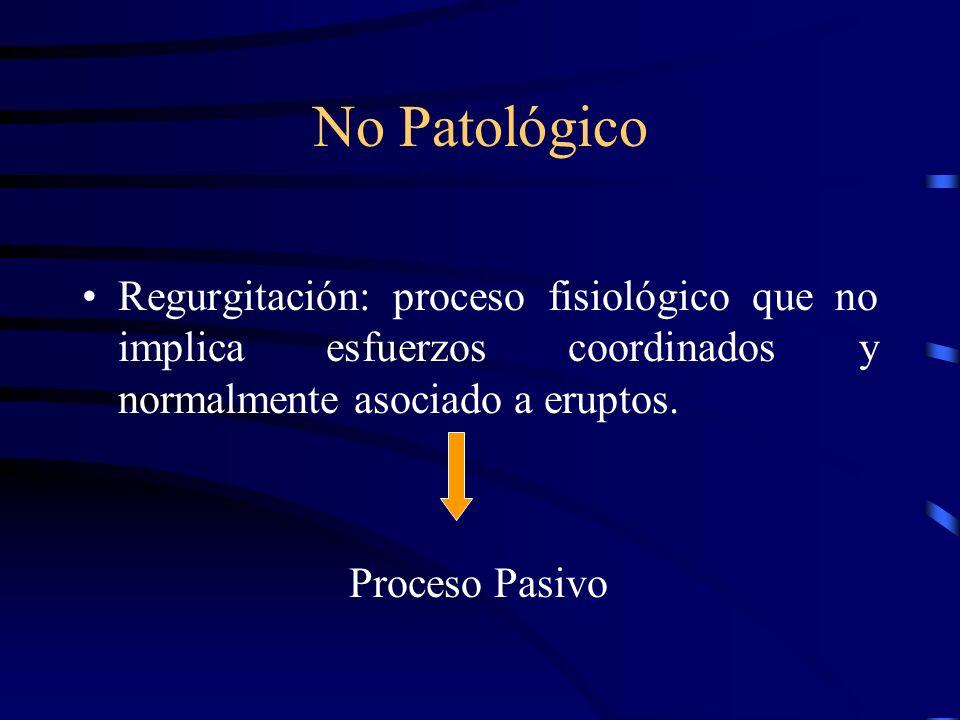 Primer paso: Prioritario Normal vrs. Patológico.