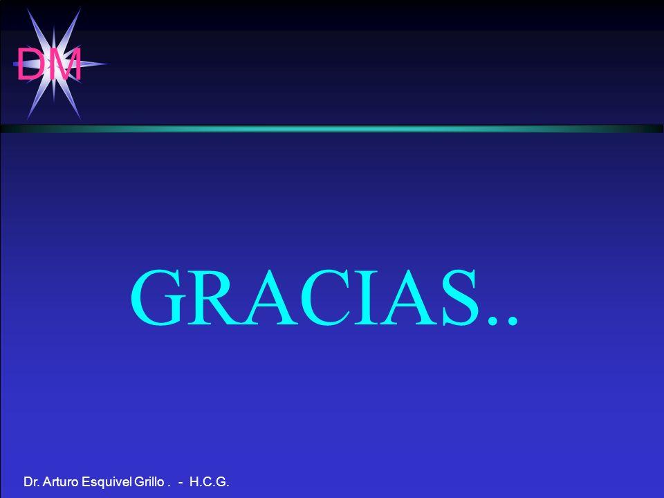 DM Dr. Arturo Esquivel Grillo. - H.C.G. GRACIAS..