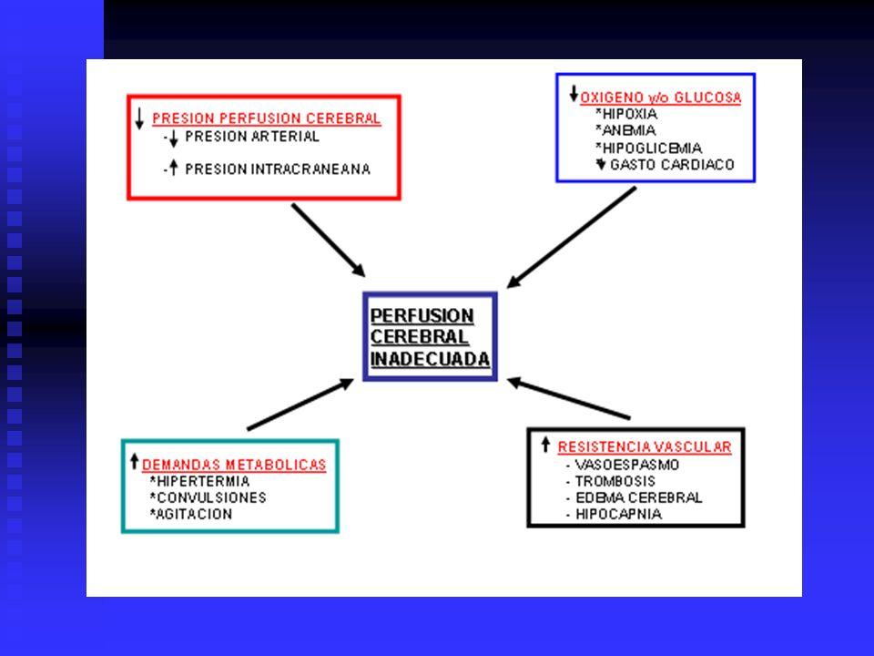 INDICACIONES PARA MONITOREO PIC 1---PACIENTES CON TCE SEVERO...GLASGOW ENTRE 3 y 8 DESPUES DE RESUCITA CION CARDIOPULMONAR Y UN TAC ANORMAL...(HEMATOMAS-CONTUSIONES- EDEMA-COMPRESION DE CISTERNAS BASALES) 2---PACIENTES CON TCE SEVERO Y UN TAC NORMAL, Y SI DOS O MAS DE LOS SIGUIENTES HALLASGOS SON NOTADOS: +-MAYOR DE 40 AÑOS +-POSTURAS MOTORAS UNI o BILATERALES +-PRESION SISTOLOCA MENOR DE 90mmHG 3---HSA..........ASOCIADA A HIDROCEFALIA o PACIENTE EN COMA 4---HEMORRAGIA INTRACEREBRAL ESPONTANEA 5---TUMORES CEREBRALES.........EN PACTES CON ALTO RIESGO DE EDEMA O DE HIDRO- CEFALIA OBSTRUCTIVA 6HIDROCEFALO NORMOTENSO O HIDROCEFALO DESCOMPENSADO 7---HIPERTENSION INTRACRANEAL BENIGNA 8---OTRAS INDICAC POTENCIALES.......EDEMA POR HIPOXIA-MENINGITIS-ENCEFALITIS TROMBOSIS SENOS VENOSOSENCEFALOPATIA HEPATICA.