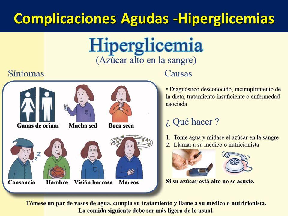 Complicaciones Agudas -Hiperglicemias