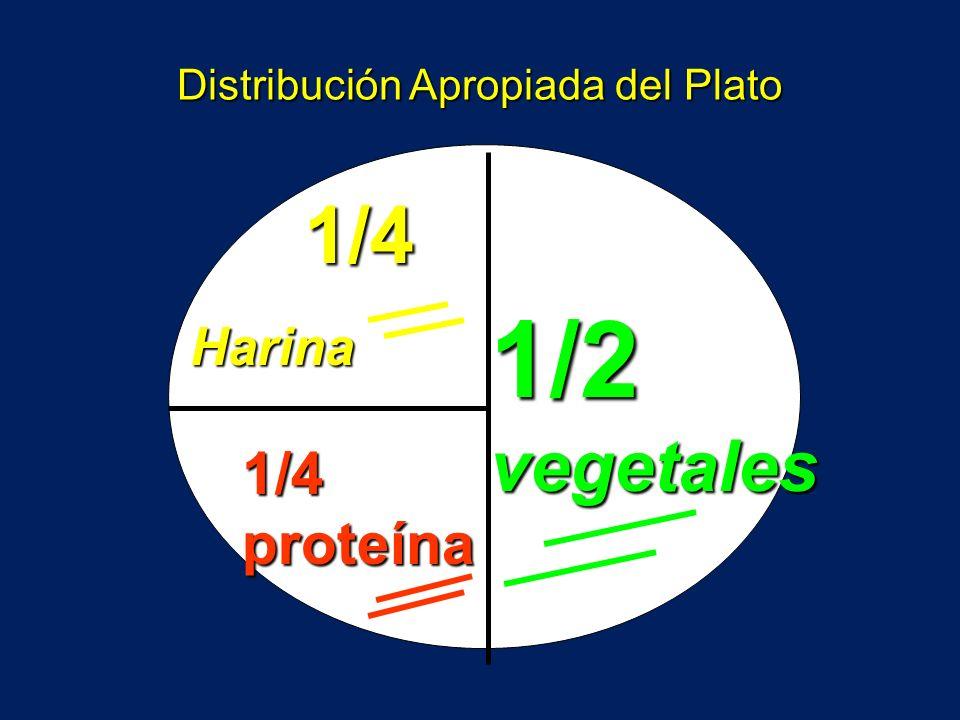 ¿ Cómo se debe mejorar la alimentación en diabetes ? Vegetales no harinosos Harinas