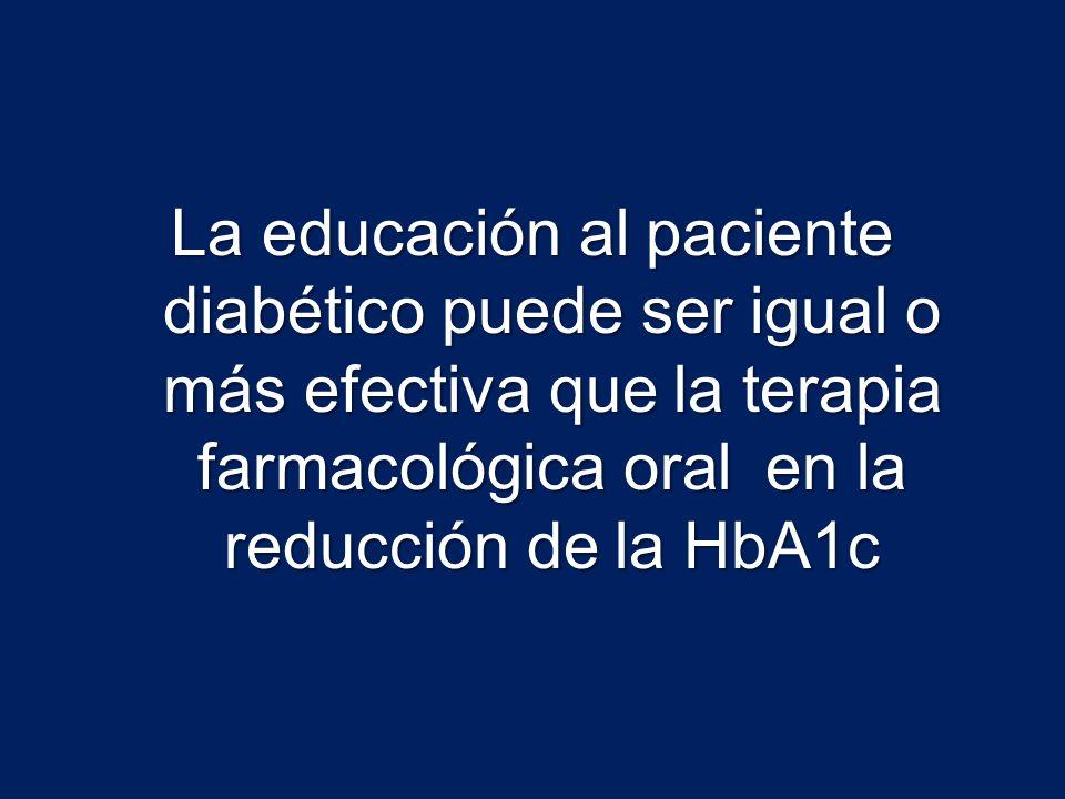 Efecto de la educación en diabetes en tiempo de hospitalización y habilidad para trabajar Williams, Gareth.