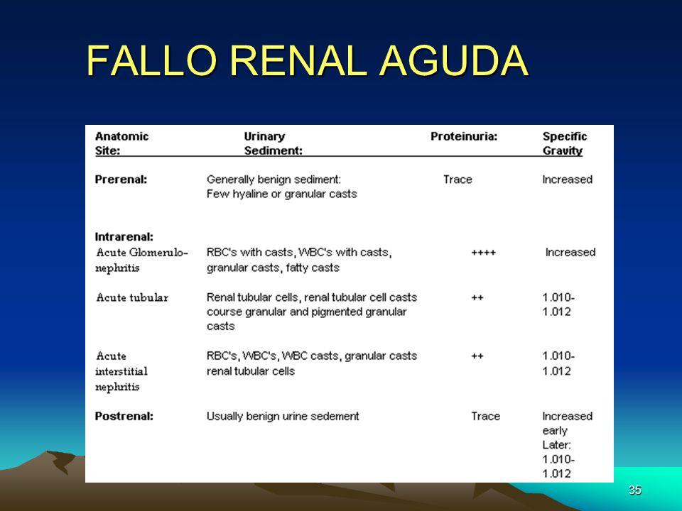 35 FALLO RENAL AGUDA