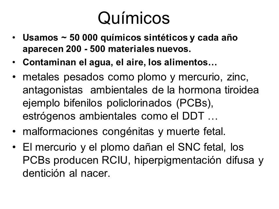 Fuentes de consulta en teratología en línea REPROTOX.
