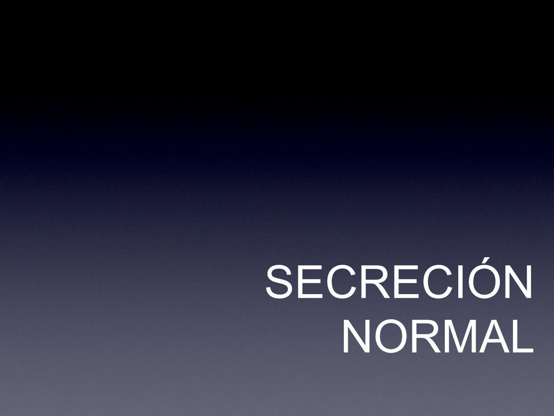 SECRECIÓN NORMAL
