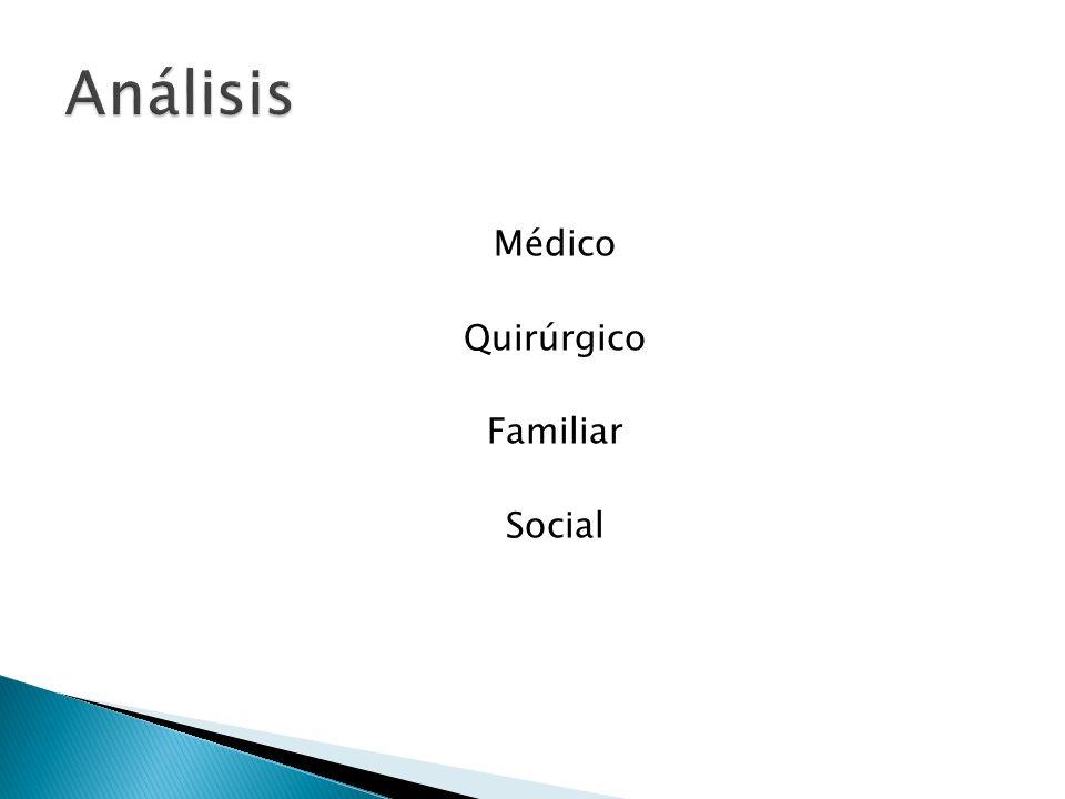 Médico Quirúrgico Familiar Social