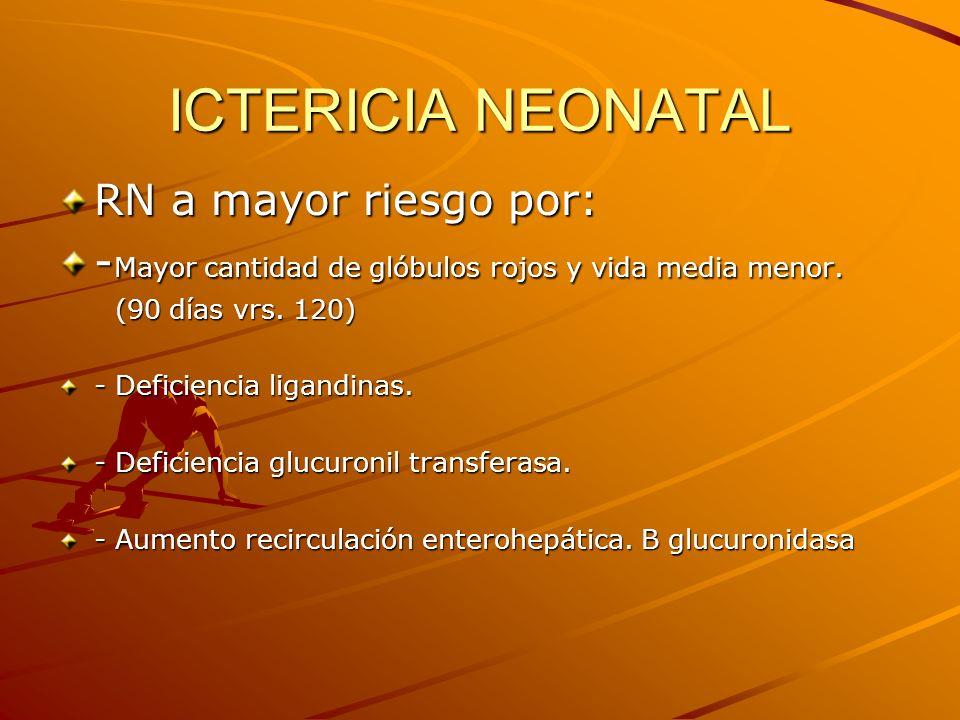 ICTERICIA NEONATAL FACTORES DE RIESGO MATERNOS -Incomp.