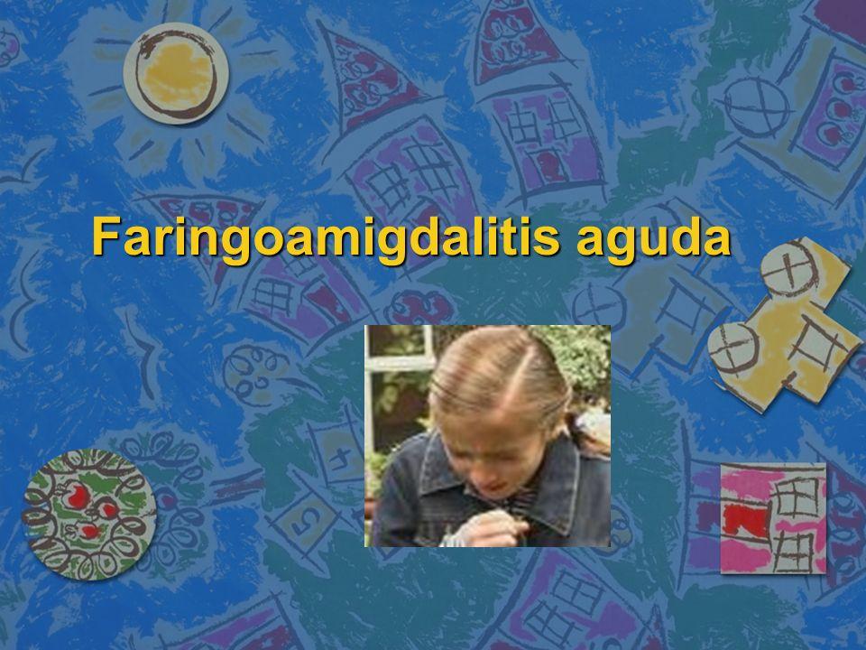 Faringoamigdalitis aguda