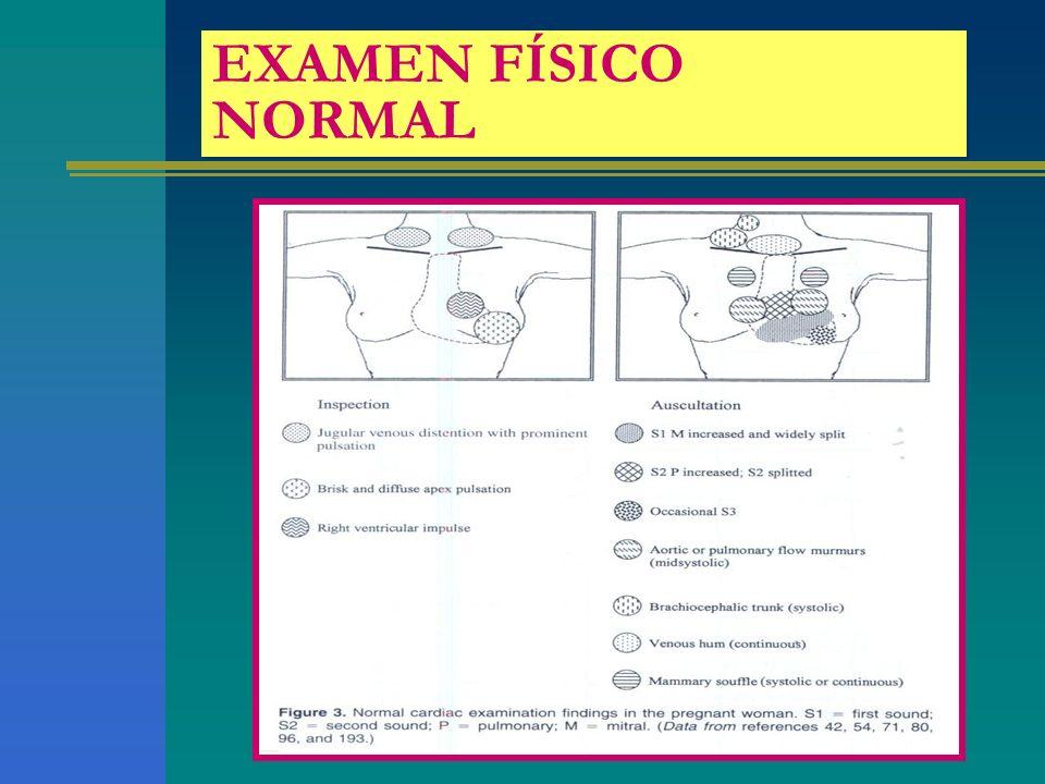 EXAMEN FÍSICO NORMAL