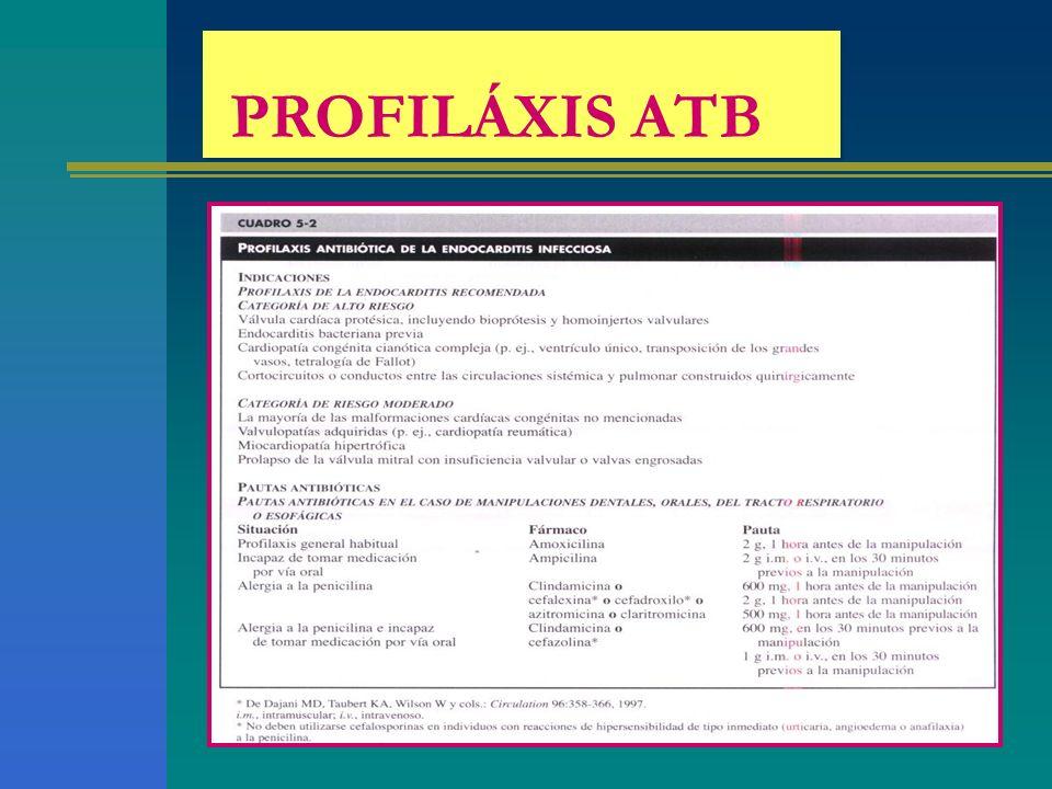 PROFILÁXIS ATB