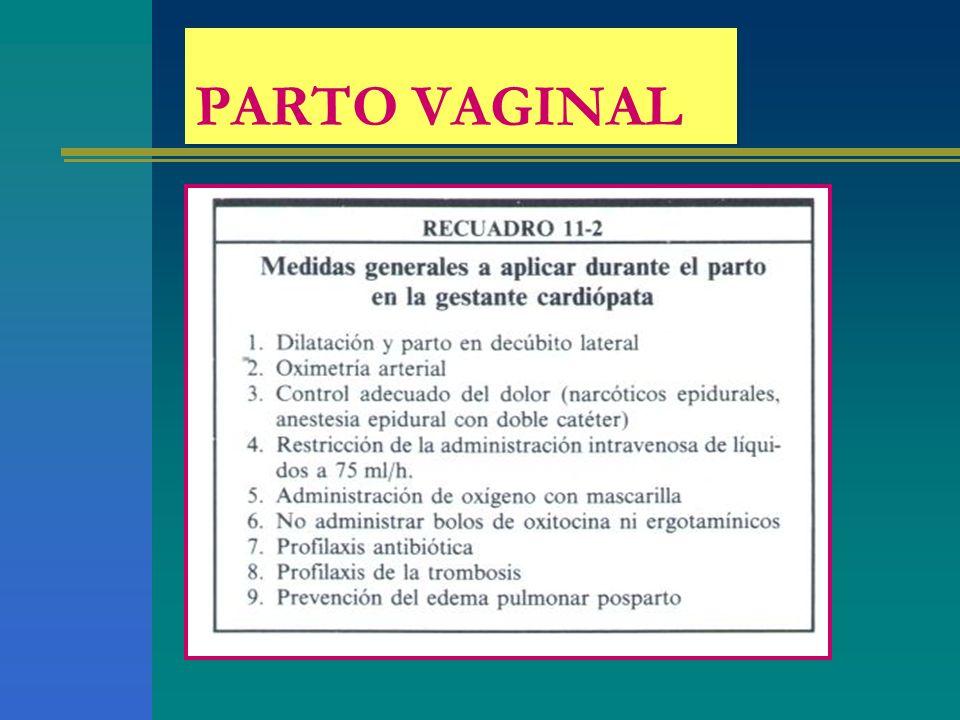 PARTO VAGINAL