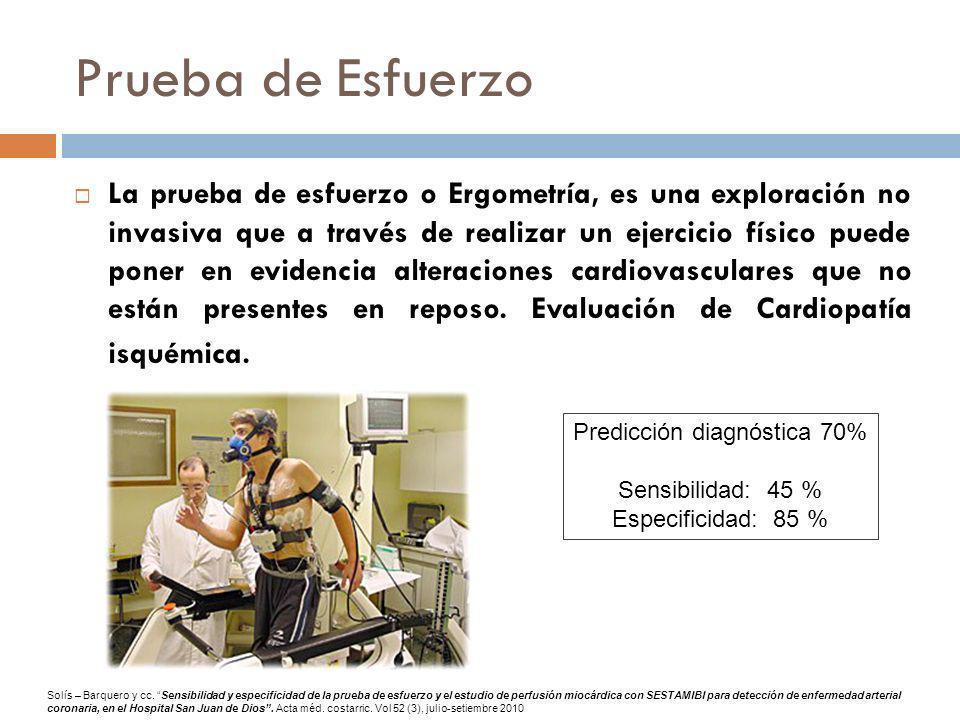Prueba de Esfuerzo La prueba de esfuerzo o Ergometría, es una exploración no invasiva que a través de realizar un ejercicio físico puede poner en evid