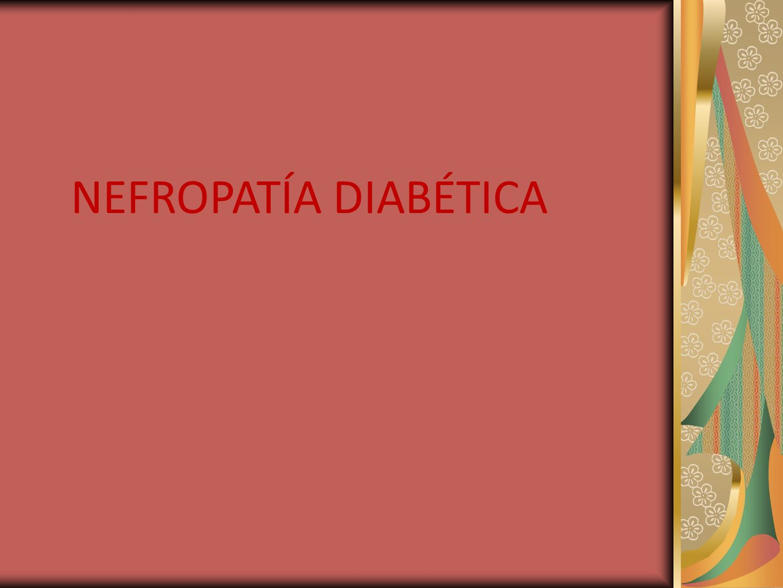NEFROPATIA DIABÉTICA Glomerulosclerosis nodular.Nódulo Grueso de material amorfo.