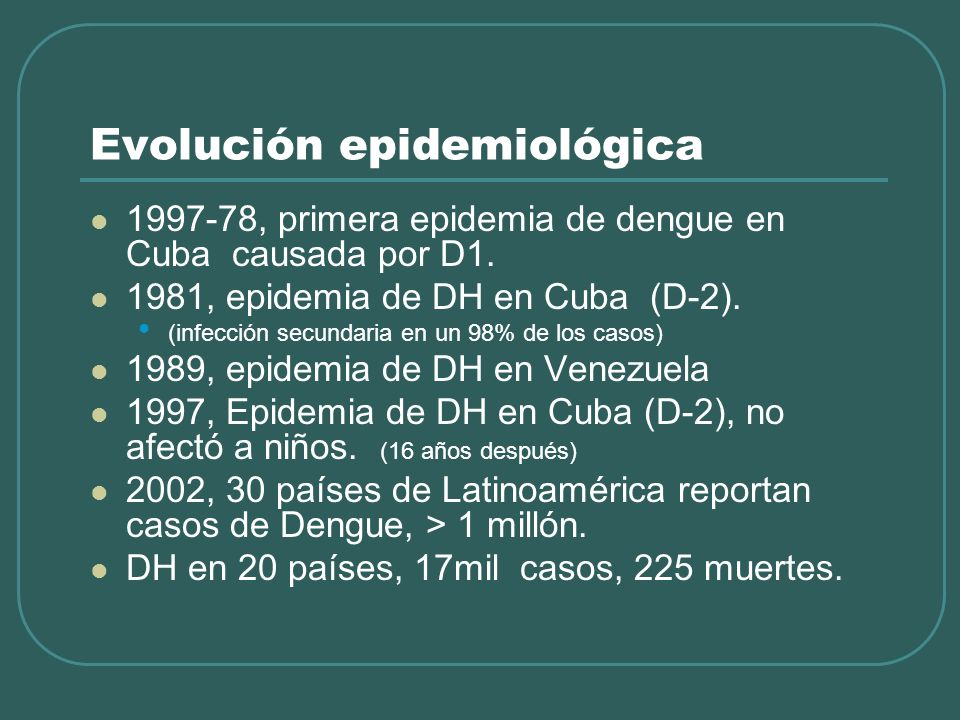 Sìndrome de Shock por Dengue Alta mortalidad 9,3-47%.