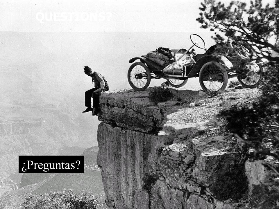 ¿Preguntas?