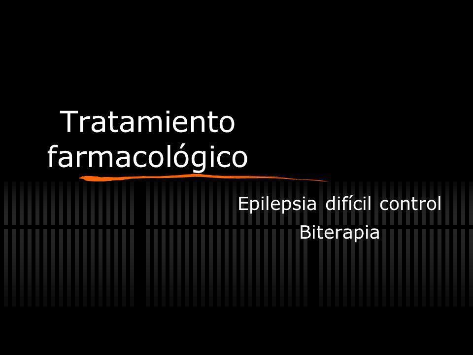 Tratamiento farmacológico Monoterapia Dosis baja inicial Dosis máxima tolerable