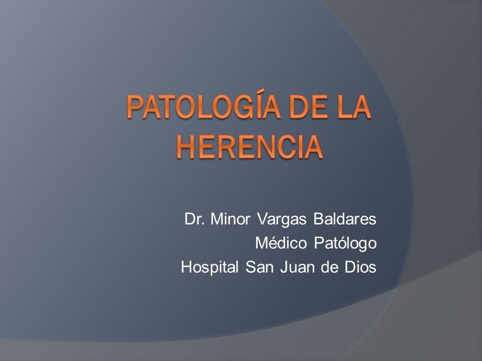 Dr. Minor Vargas Baldares Médico Patólogo Hospital San Juan de Dios