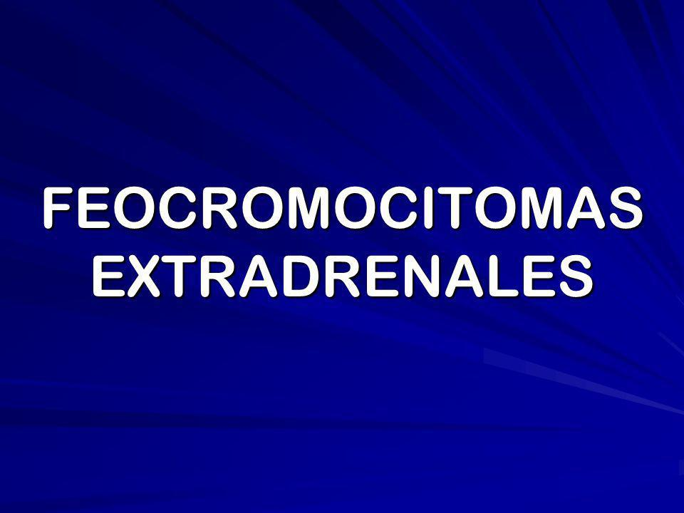 __La centigrafía con Meta yodo bencilguanedina (MIBG) permite la localización de metástasis y feocromocitomas extradrenales.