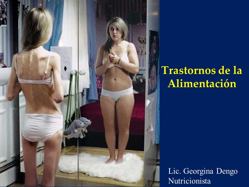 Trastornos de la Alimentación Temario o Definición o Clasificación y Criterios Diagnósticos o Epidemiología o Complicaciones endocrinológicas y otras morbilidades o Pronóstico y Mortalidad o Tratamiento Marzo 2012