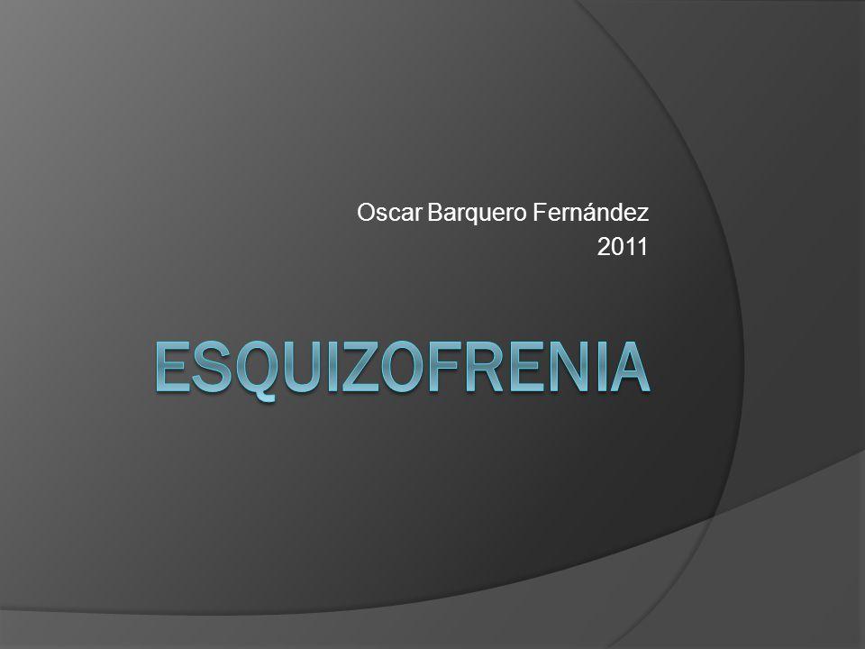 Oscar Barquero Fernández 2011