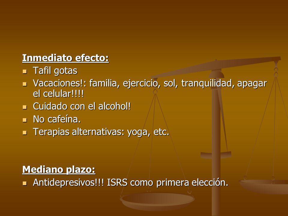 Inmediato efecto: Tafil gotas Tafil gotas Vacaciones!: familia, ejercicio, sol, tranquilidad, apagar el celular!!!! Vacaciones!: familia, ejercicio, s