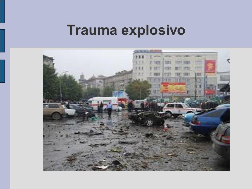 Trauma explosivo