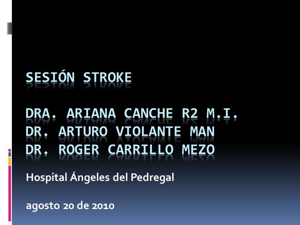 Hospital Ángeles del Pedregal agosto 20 de 2010