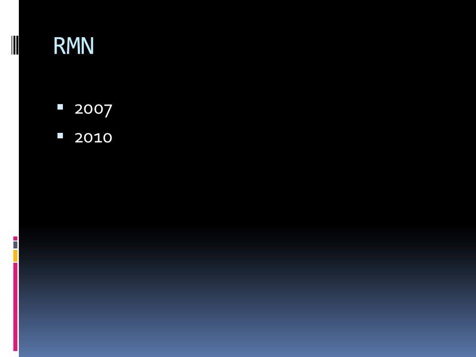 RMN 2007 2010