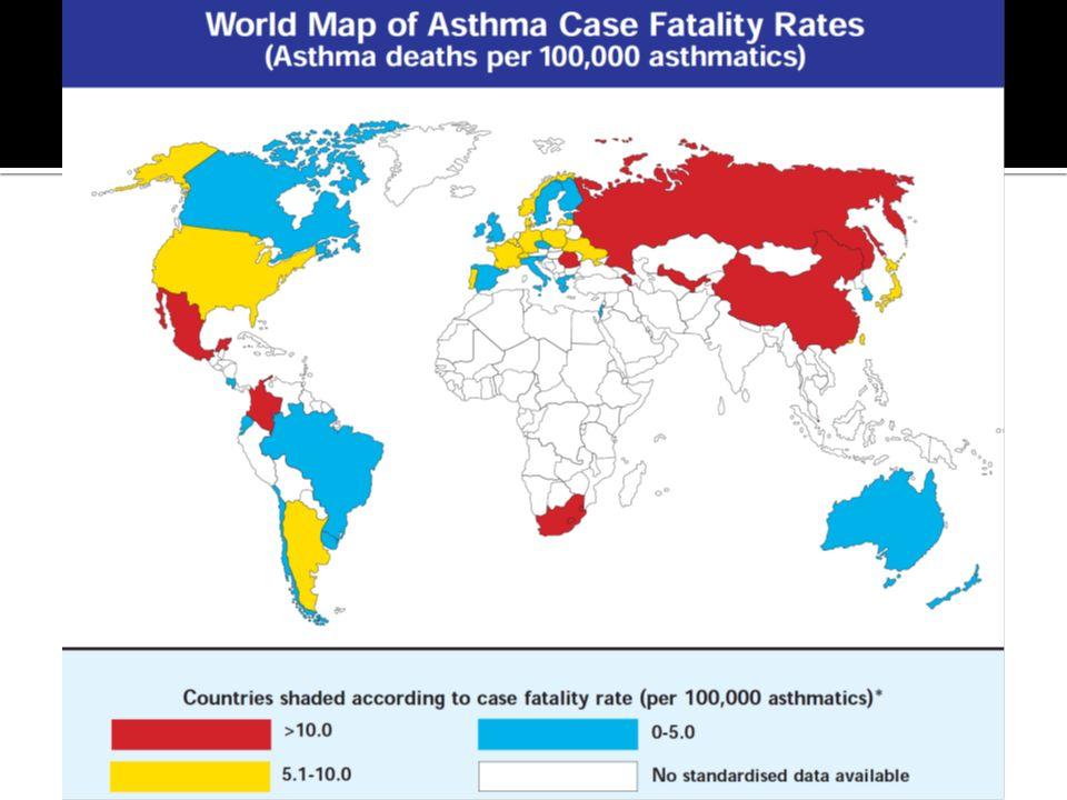 Intermitente Persistente Leve Severa Persistente Moderada Persistente Global Initiative for Asthma (GINA).