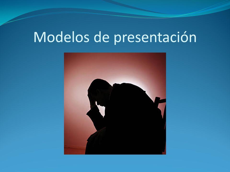 Modelos de presentación