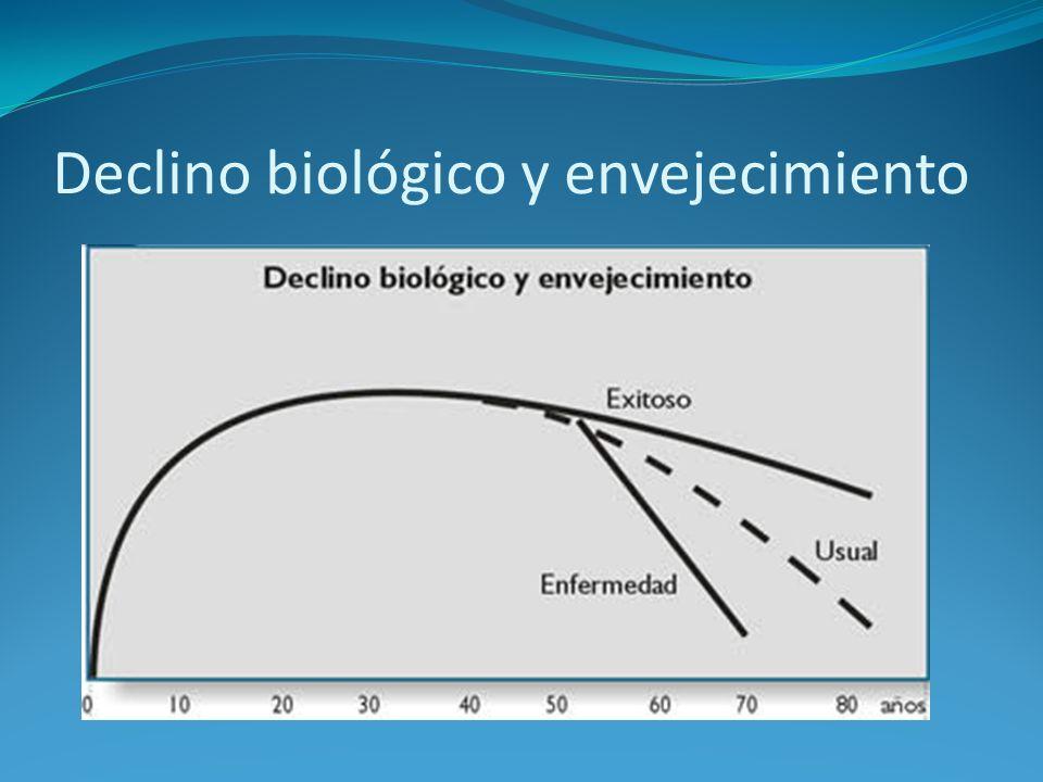 Declino biológico y envejecimiento
