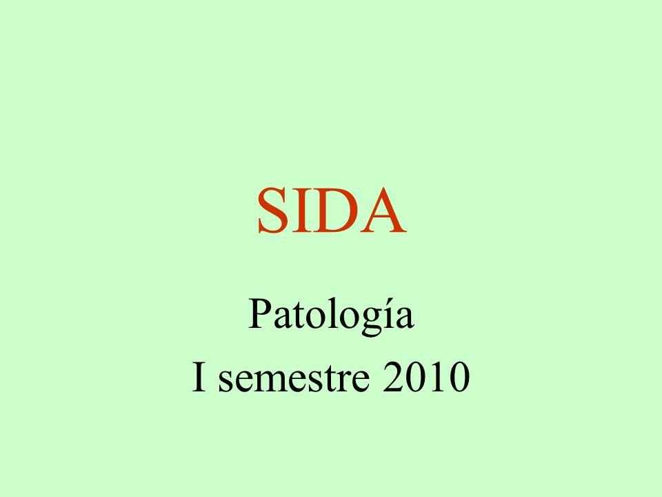 SIDA Patología I semestre 2010