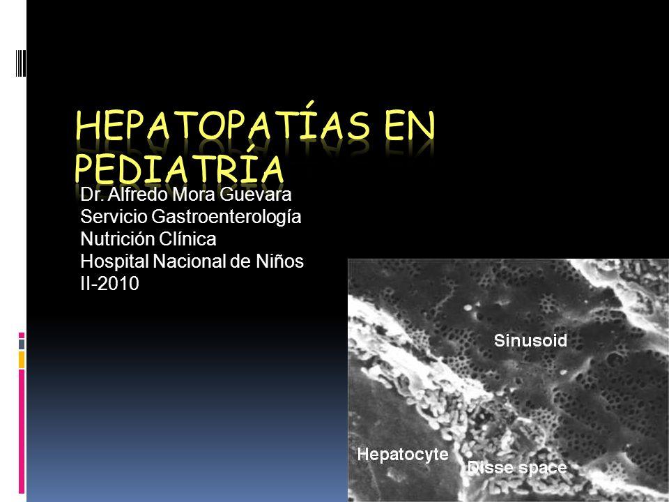 Dr. Alfredo Mora Guevara Servicio Gastroenterología Nutrición Clínica Hospital Nacional de Niños II-2010