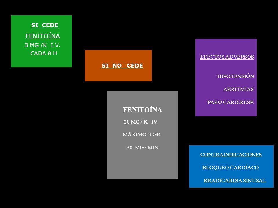 CRISIS PERSISTENTE SIGNOS VITALES VÍA AÉREA LIBRE OXÍGENO VÍA I. VENOSA MUESTRA SÉRICA BUSCAR ETIOLOGÍA DIAZEPAM ( DZP ) 0,3 MG / K IV MÁXIMO 10 MG 2