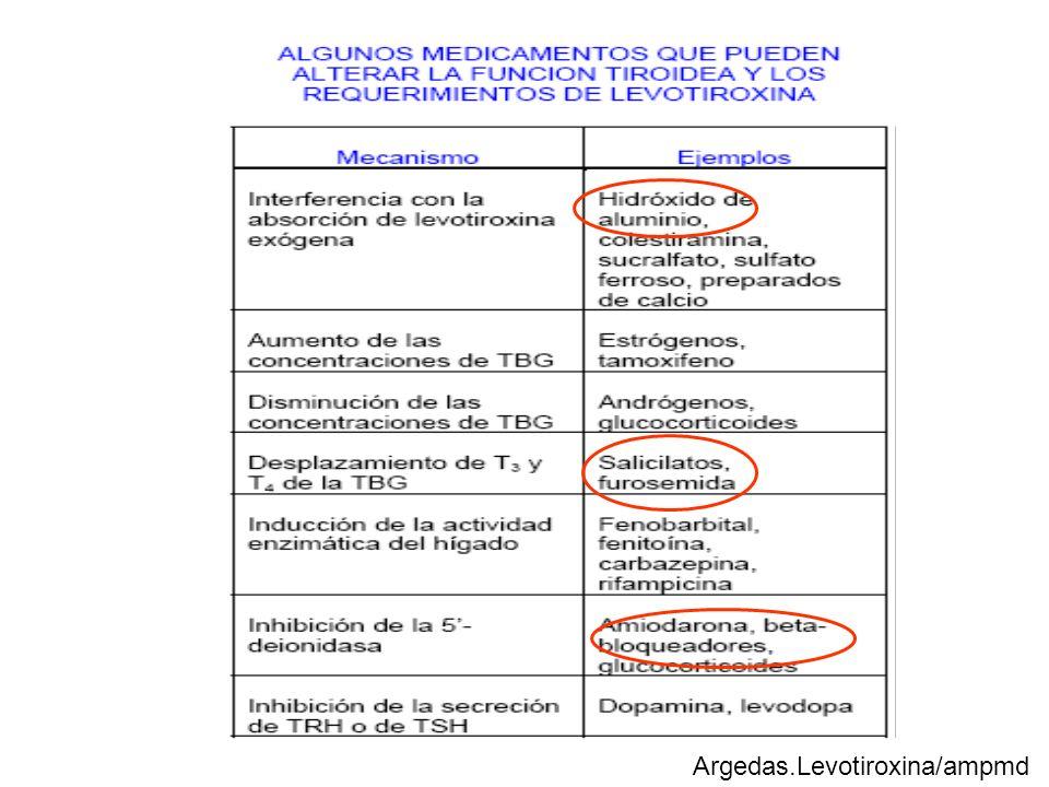 Argedas.Levotiroxina/ampmd