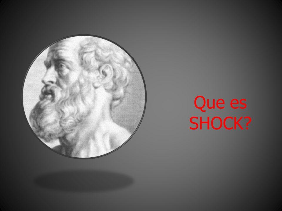 Que es SHOCK?