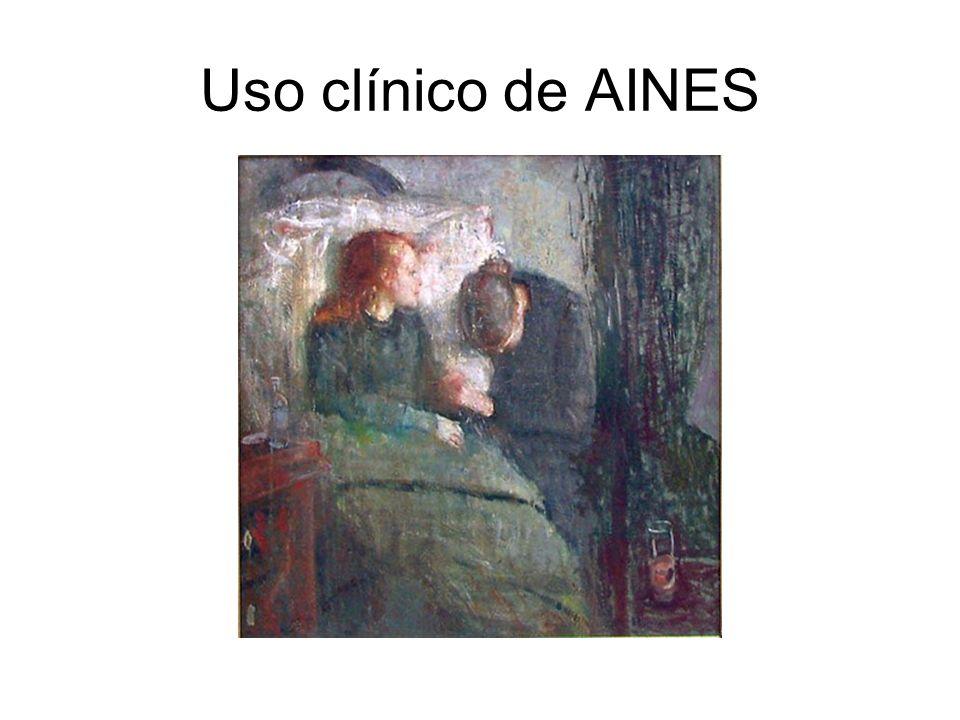 Uso clínico de AINES