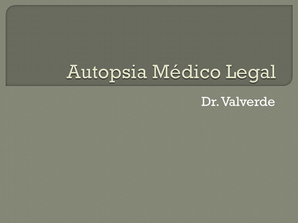 Dr. Valverde