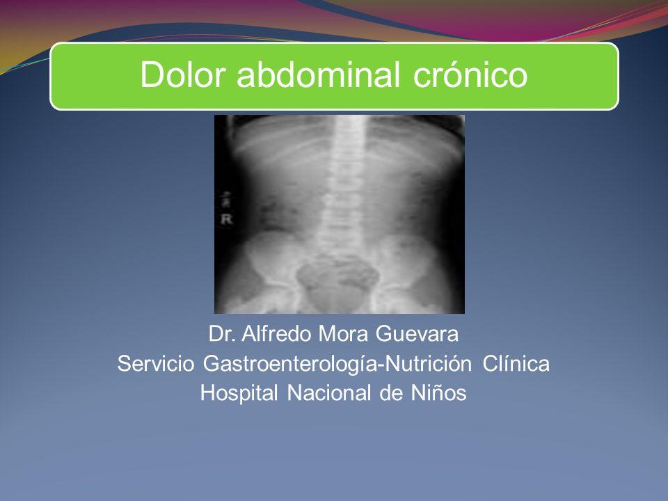 Dolor abdominal crónico Dr.