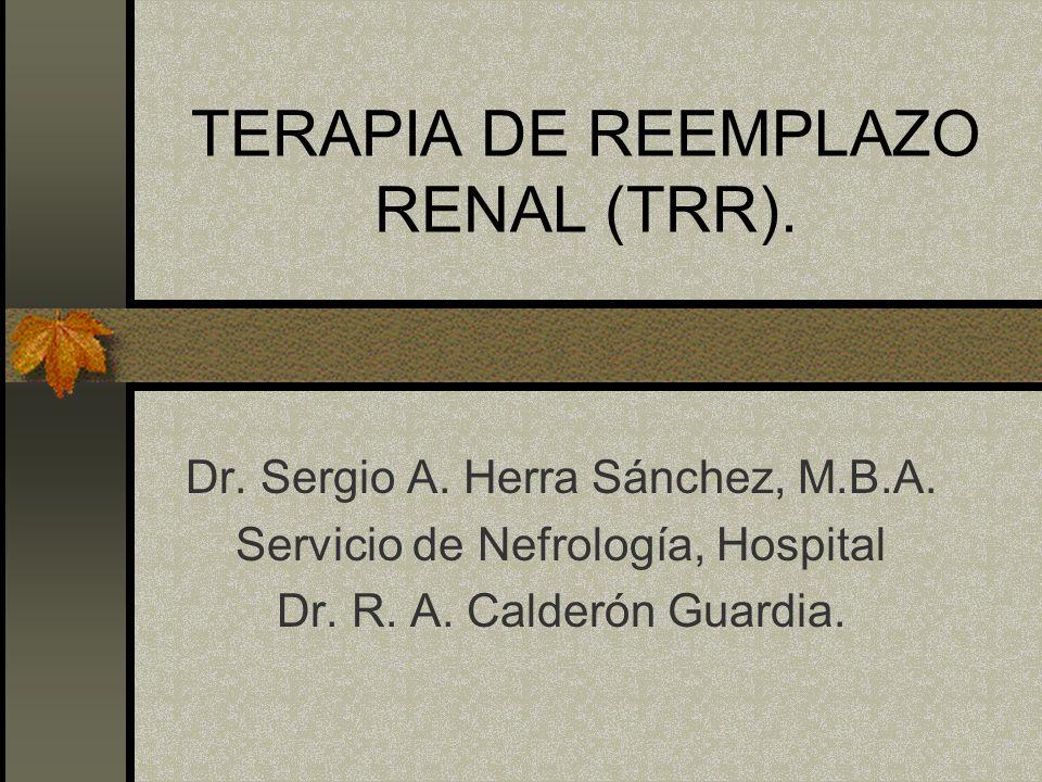 TRASPLANTE RENAL EN COSTA RICA También se han realizado trasplantes de: Médula ósea.