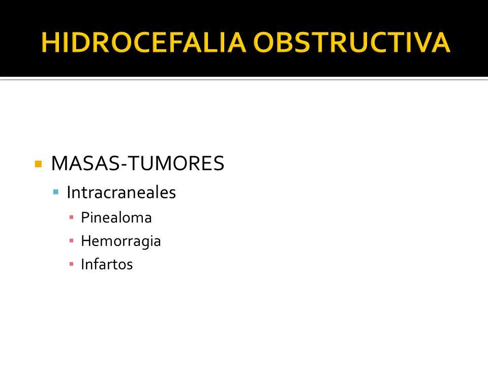 MASAS-TUMORES Intracraneales Pinealoma Hemorragia Infartos